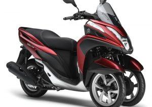Pot echappement Yamaha Tricity 125 (2014 - 17)