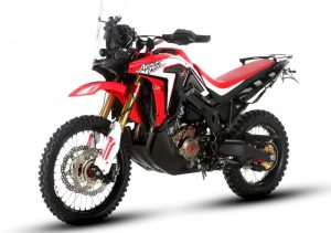 Pot echappement Honda Africa Twin Rally DCT (2018)