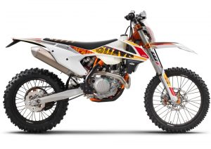 Pot echappement KTM EXC 450 Six Days (2017)