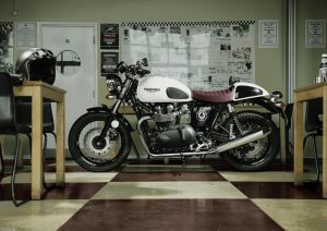 Pot echappement Triumph Thruxton 900 ACE (2014 - 15)