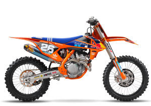 Pot echappement KTM SX 250 F Factory (2017)