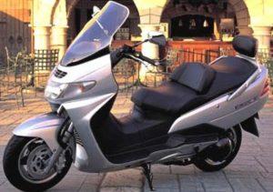 Pot echappement Suzuki Burgman AN 250 (2001 - 03)