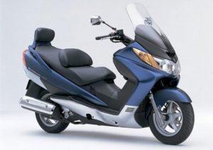 Pot echappement Suzuki Burgman AN 250 (2004 - 06) i.e.