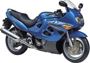 Pot echappement Suzuki GSX 600 F (1998- 05)