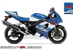 Pot echappement Suzuki GSX R 600X Anniversary (2005 - 06)