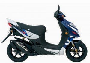 Pot echappement Suzuki Katana AY 50 Liquido (2005 - 06)