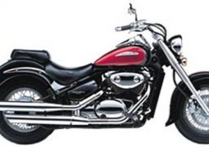 Pot echappement Suzuki VL 800 Intruder Volusia (2000 - 04)