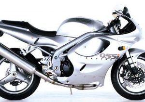 Pot echappement Triumph Daytona 955 I (1999 - 01)