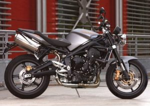 Pot echappement Triumph Street Triple R (2009 - 12)