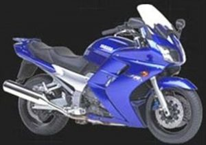 Pot echappement Yamaha FJR 1300 (2000 - 05)