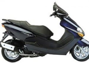 Pot echappement Yamaha Majesty 125 (2000 - 06)