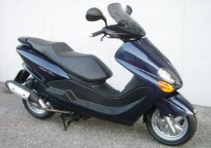 Pot echappement Yamaha Majesty 125 SV (2005 - 06)