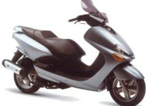 Pot echappement Yamaha Majesty 125 YP (1998 - 02)