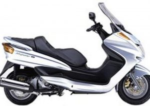 Pot echappement Yamaha Majesty 250 A ABS (1999 - 03)