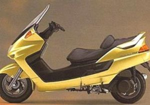Pot echappement Yamaha Majesty 250 DX (1998 - 02)
