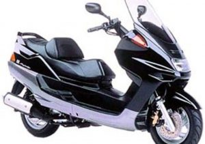 Pot echappement Yamaha Majesty 250 DX ABS (1998 - 02)