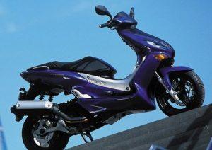 Pot echappement Yamaha Maxster 125 (2001 - 02)
