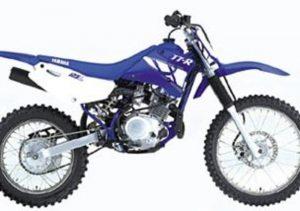 Pot echappement Yamaha TT R 125 LW (2000 - 02)