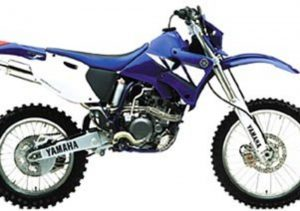 Pot echappement Yamaha WR 250 F (2000 - 01)