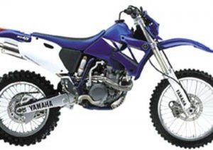 Pot echappement Yamaha WR 426 F (2000 - 01)