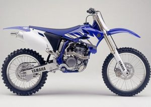 Pot echappement Yamaha YZ 250 F (2005)