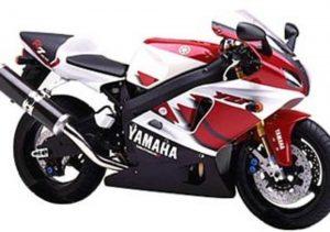 Pot echappement Yamaha YZF 750 R7