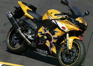 Pot echappement Yamaha YZF R46 (2005)
