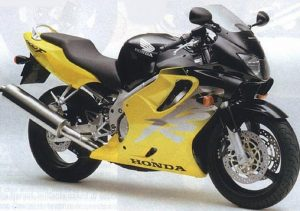 Pot echappement Honda CBR 600 F (1999 - 00)