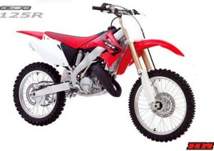 Pot echappement Honda CR 125 R (2005)