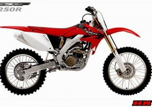 Pot echappement Honda CRF 250 R (2005)
