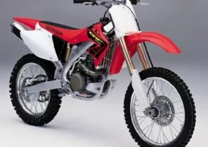 Pot echappement Honda CRF 450 R (2001 - 02)