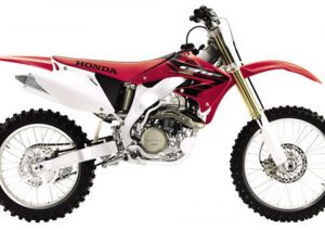 Pot echappement Honda CRF 450 R (2003 - 04)