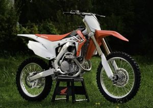 Pot echappement Honda CRF 450 R (2013)