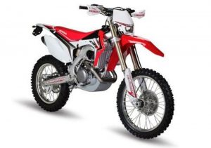 Pot echappement Honda CRF 500 R Enduro (2014)