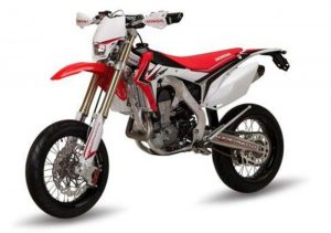 Pot echappement Honda CRF 500 R Supermoto (2014)