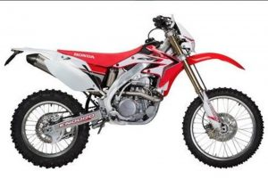 Pot echappement Honda CRF 500 X Enduro (2014)
