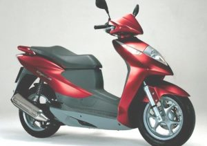 Pot echappement Honda Dylan 150
