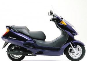 Pot echappement Honda Pantheon 125 (1998 - 02)