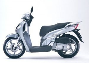 Pot echappement Honda SH 125 i (2005 - 08)