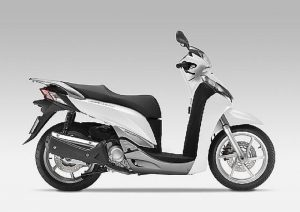 Pot echappement Honda SH 300 i ABS (2011 - 13)
