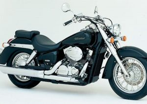 Pot echappement Honda Shadow 750 (2004)
