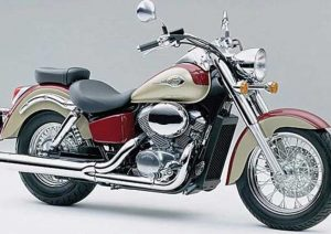 Pot echappement Honda VT 750 C2 Shadow (1998 - 03)