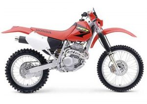 Pot echappement Honda XR 250 R (2003)