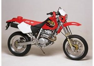 Pot echappement Honda XR 250 R Supermotard (2002 - 03)