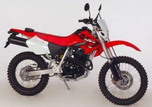 Pot echappement Honda XR 400 R A.E. Dall'Ara
