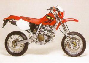 Pot echappement Honda XR 400 R Supermotard (1997 - 03)