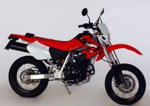 Pot echappement Honda XR 400 SM A.E. Dall'Ara