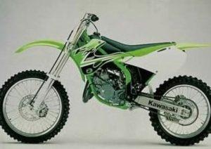 Pot echappement Kawasaki KL KX 125 (2002) - L4