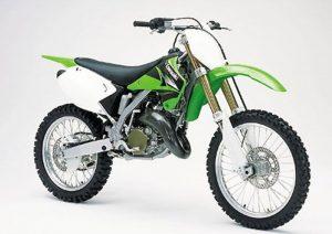 Pot echappement Kawasaki KL KX 125 (2003 - 04) - M2