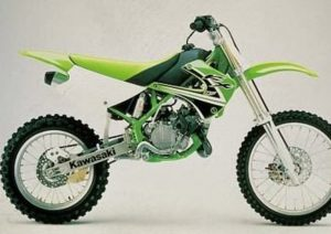 Pot echappement Kawasaki KL KX 85 (2002) - B2